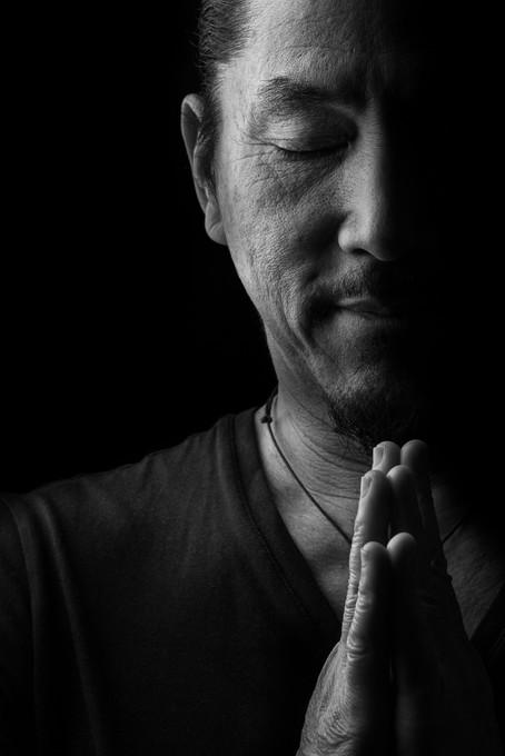 BW photo of Govinda Kai