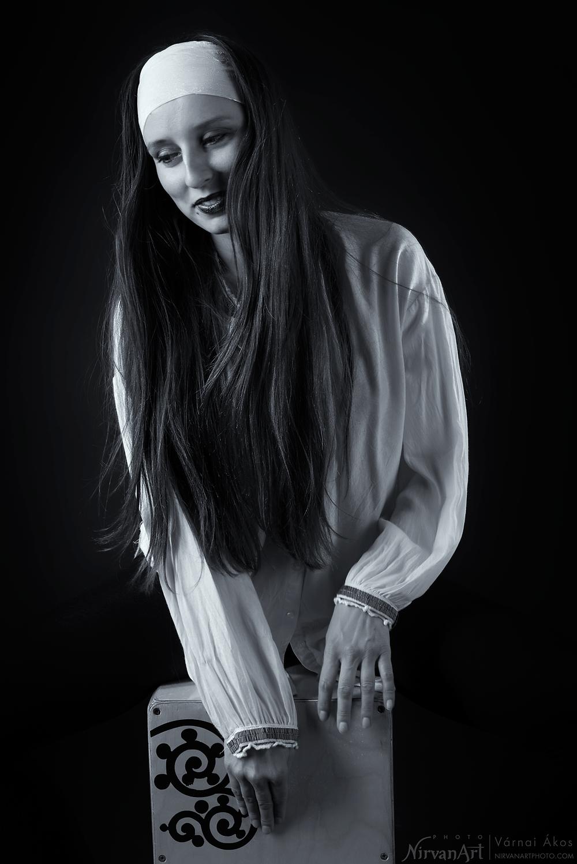 portré fotó Fodor Rékáról