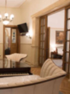 Airbnb lakás fotó, nem HDR
