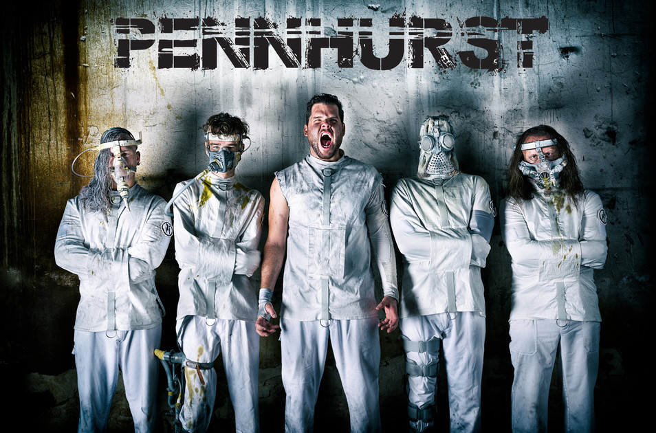 band photo of ane extreme metal band