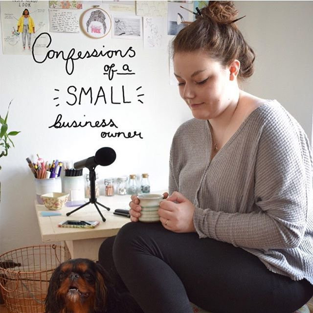 confessions of a small biz owner podcast cover