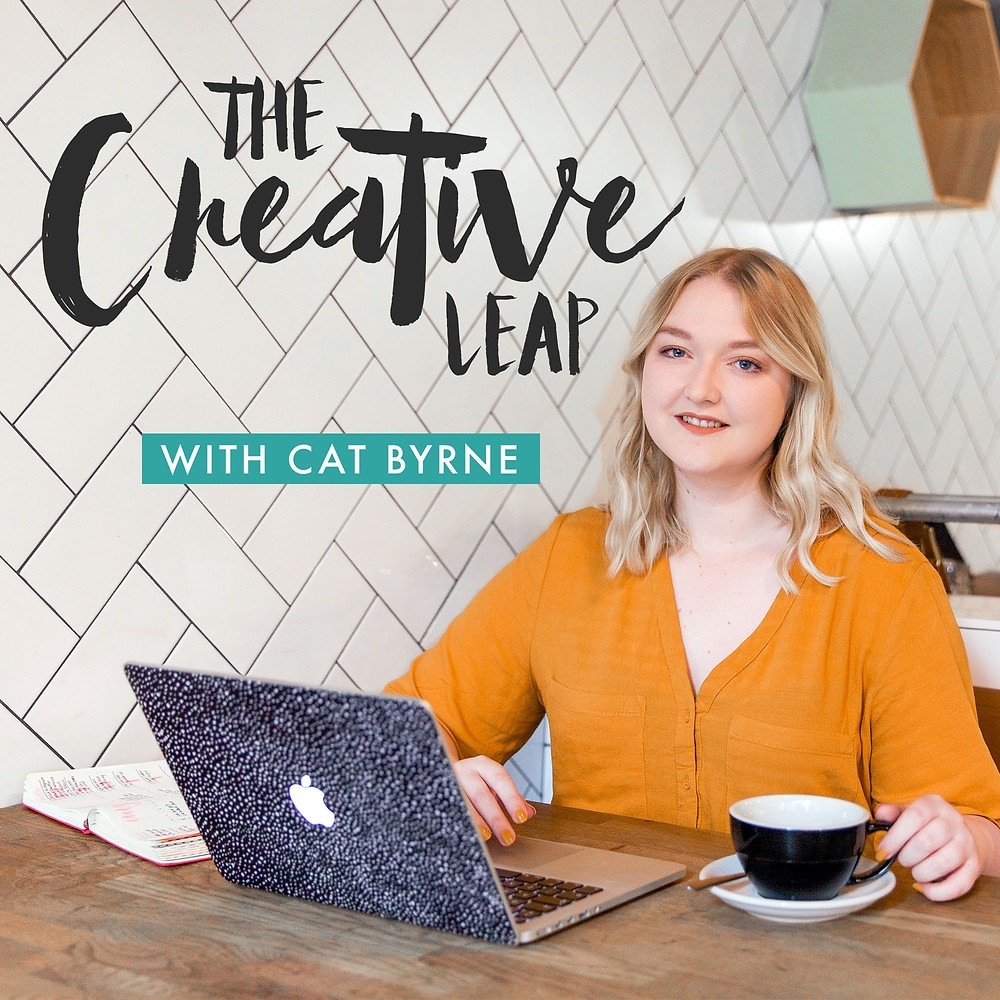 The Creative Leap - Cat Bryne Podcast cover