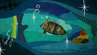 """Fish in trouble"" Aki Hata"
