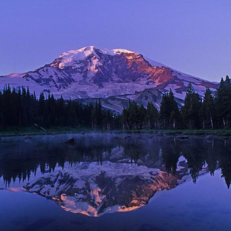 1406 Mount Rainier--Sunrise--Mystic Lake