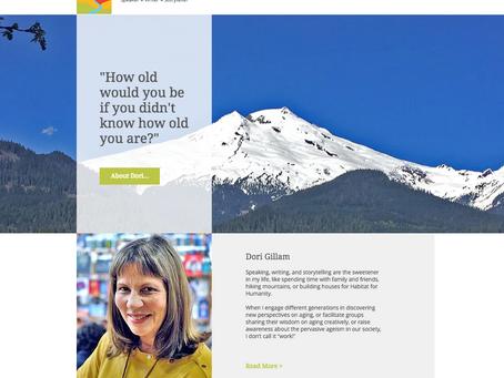 New Website – Dori Gillam