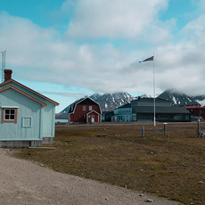 Ny Alesund--Most Northern Town in World-Svalbard