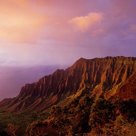 1817 Kalalau Sunset--Kauai--Hawaii