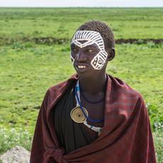 1313 Masai Young Man--Tanzania