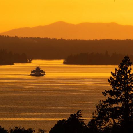 1418 Steilacoom Ferry--Puget Sound--Washington State