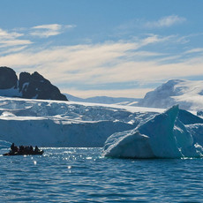 902 Zodiac--Cuverville Island--Antarctic Peninsula