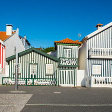 1718 Costa Nova--Candy Stripe Houses--Portugal