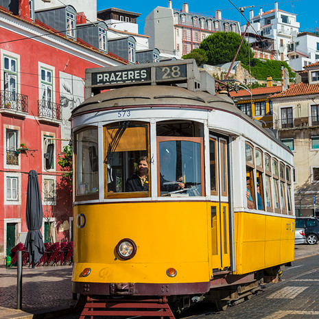 1721 Lisbon--Alfama--Trolley--Portugal