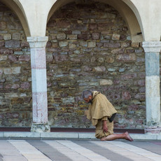 1302 Cathedral of San Francisco--Penitent--Assisi--Italy