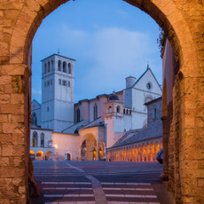 1705 Assisi--Gate--Italy