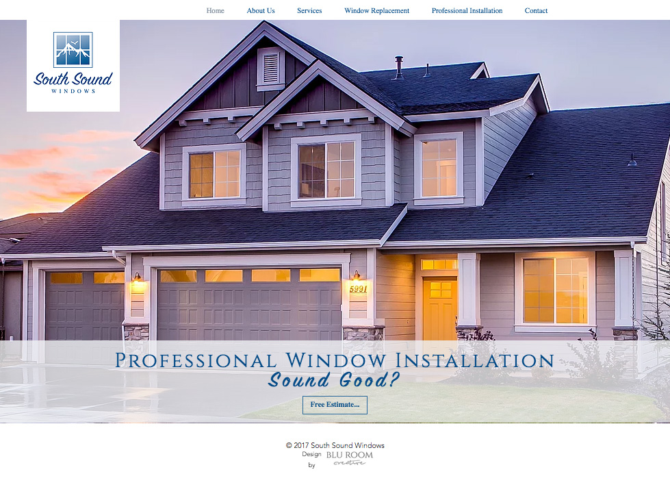 South Sound Windows Website