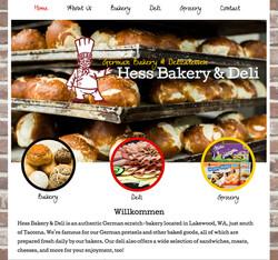 Hess Bakery Website