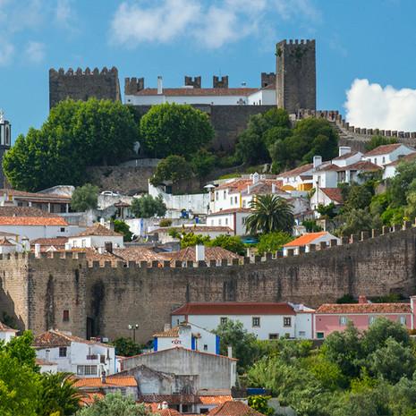 1719 Obidos--Town Scenic--Portugal