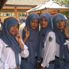 1318 School Girls--Masalembu--Indonesia