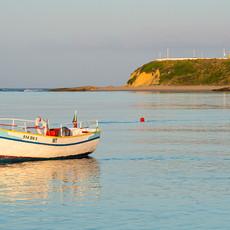 1725 Milfontes--Harbor Boat--Portugal