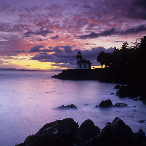 1403 Lime Kiln Lighthouse--San Juan Island