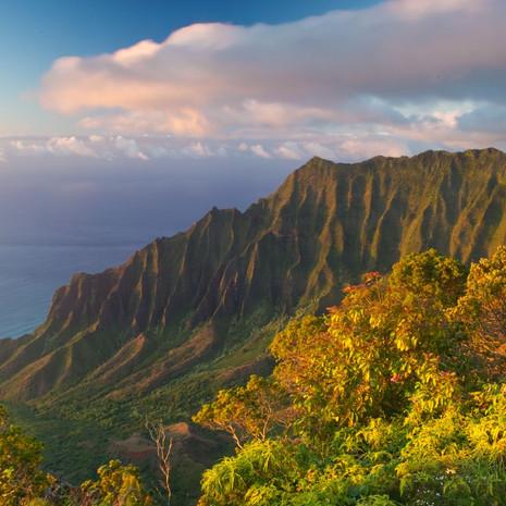 1810 Kalalau Valley--Sunset--Kauai--Hawaii