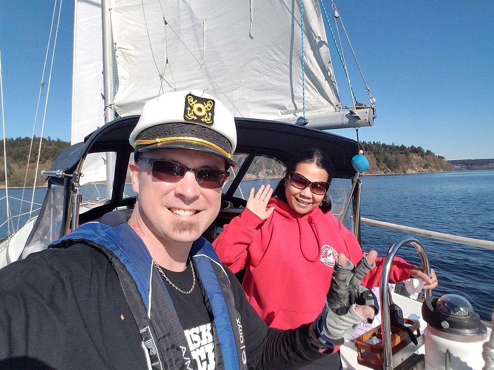 South Sound Sailing Tours Crew
