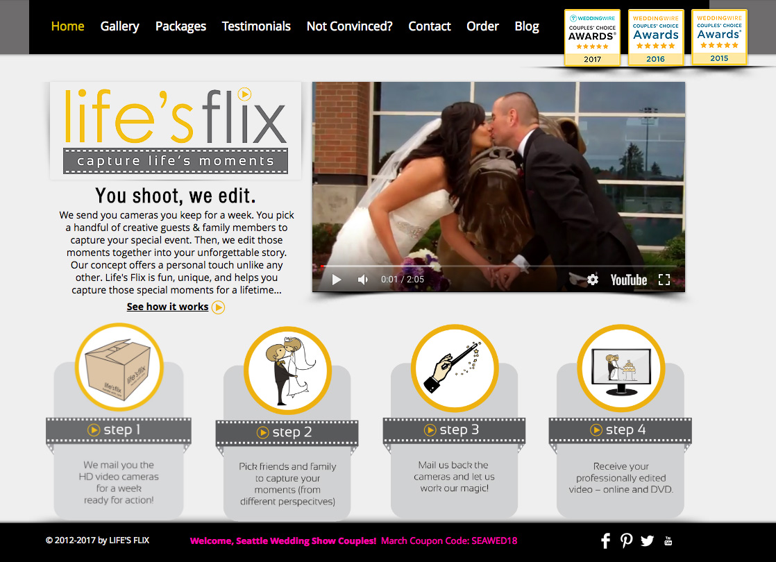 Life's Flix Website