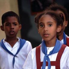 1308 School Children--Havana--Cuba