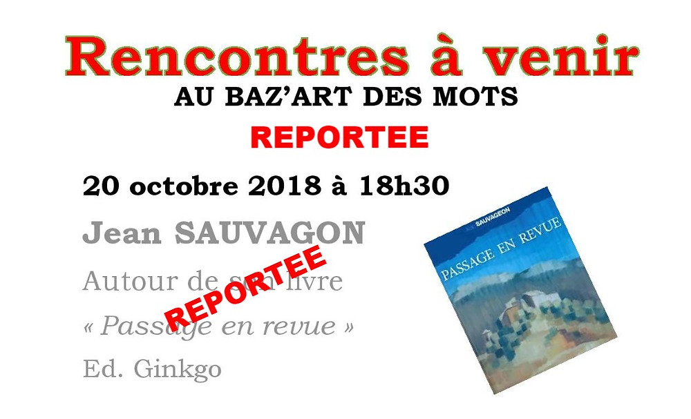 REPORT SOIREE DU 20 OCTOBRE