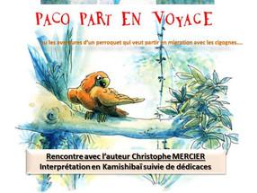 REPRESENTATION ET DEDICACES POUR LA JEUNESSE   SAMEDI 16/03 A 17H00   ENTREE LIBRE