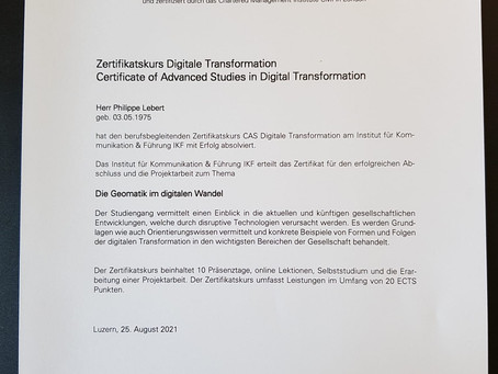 CAS Digitale Transformation