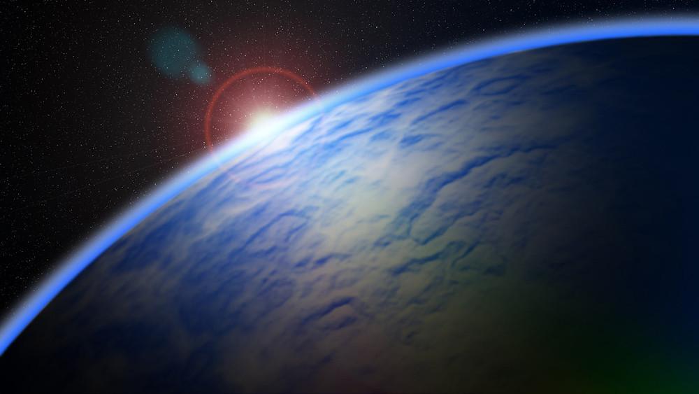 An artist's impression of Barnard's star b. Image credit: Sci-News.com