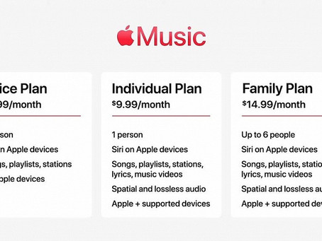 Apple Voice Plan Subscription Introduced