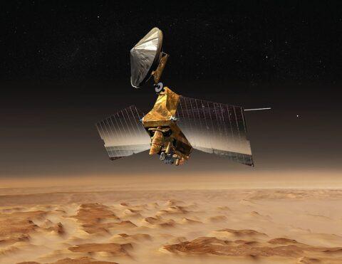 Imagination of the Mars Reconnaissance Orbiter © NASA