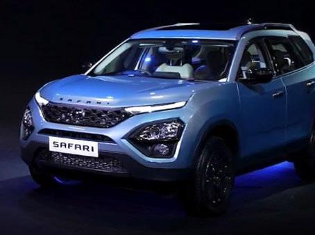 Introducing the Adventure Edition of the new Tata Safari SUV
