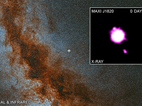 Black Hole maxi j1820+070