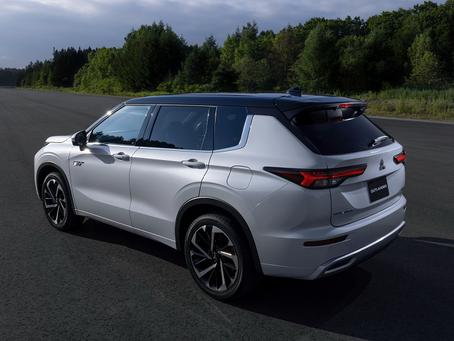 New Mitsubishi Outlander PHEV hybrid is presented