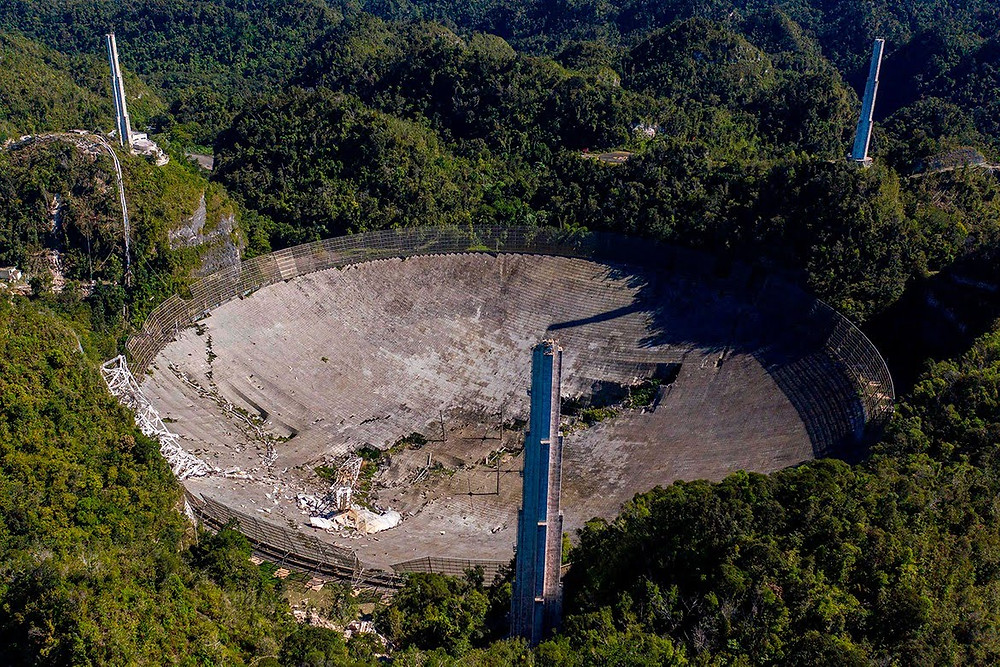 Arecibo Observatory Collapsed