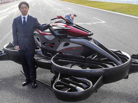 Japan begins accepting orders for the Xturismo flying motorcycle