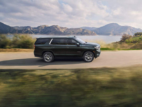 Huge 2022 Chevy Tahoe and Suburban SUVs Unveiled