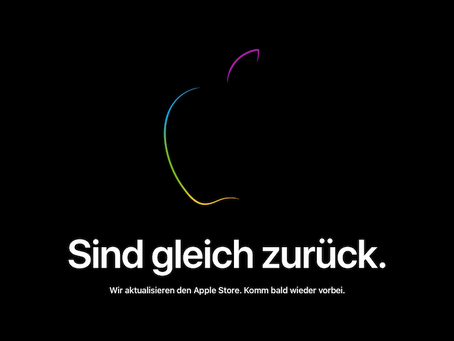 Apple Online Store goes offline