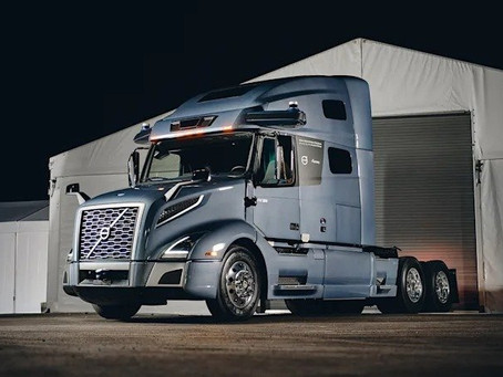 Volvo unmanned long-haul truck prototype presented