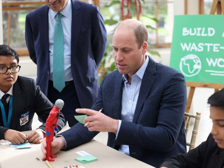 Britain's Prince William has launched an attack on space tourism