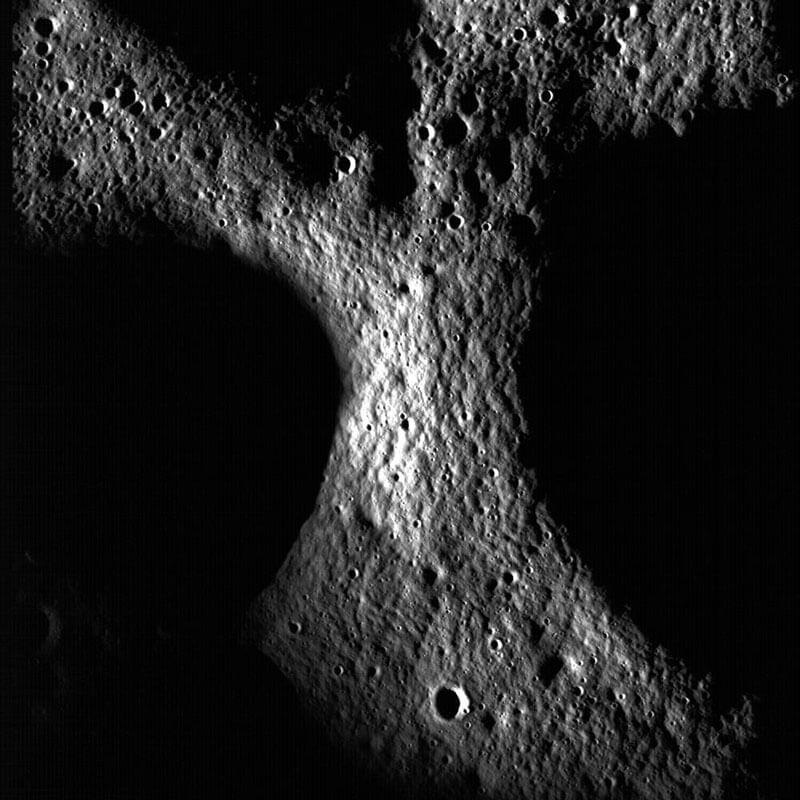 Dark Side of the Moon | Image credit: NASA/GSFC/Arizona State University