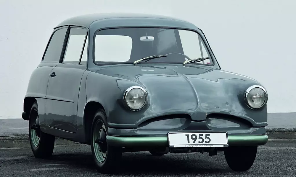 EA48 (1955) was created without the intervention of Porsche