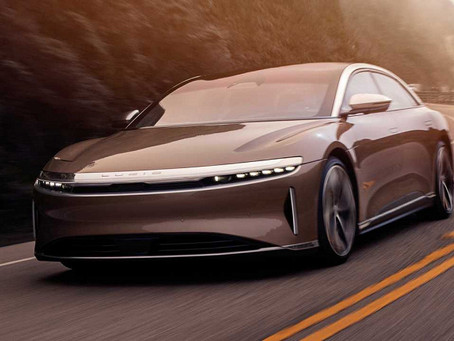 Lucid Air luxury electric sedans are starting to deliver
