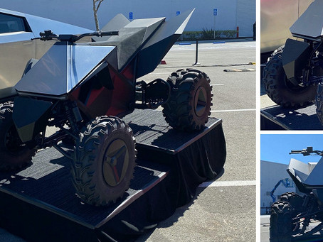 Tesla Cyberquad electric ATV: The company has applied for trademark registration