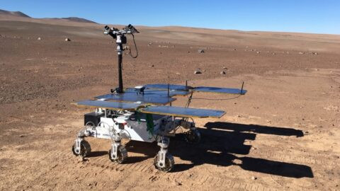 European Space Agency's first Mars rover under test Rosalind Franklin in action © ESA/Roscomos/ExoMars2022