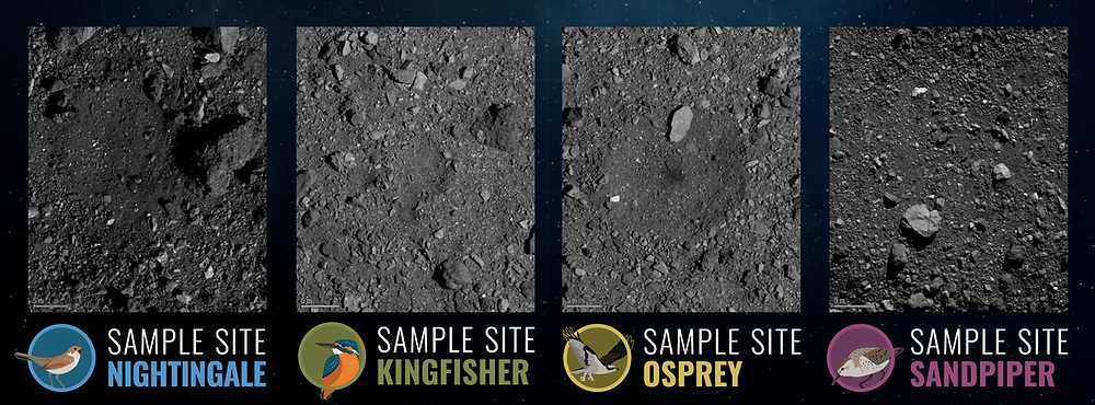 The final four candidate OSIRIS-REx sample sites