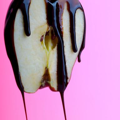 chocolate apple by natsha watchareepan daniel